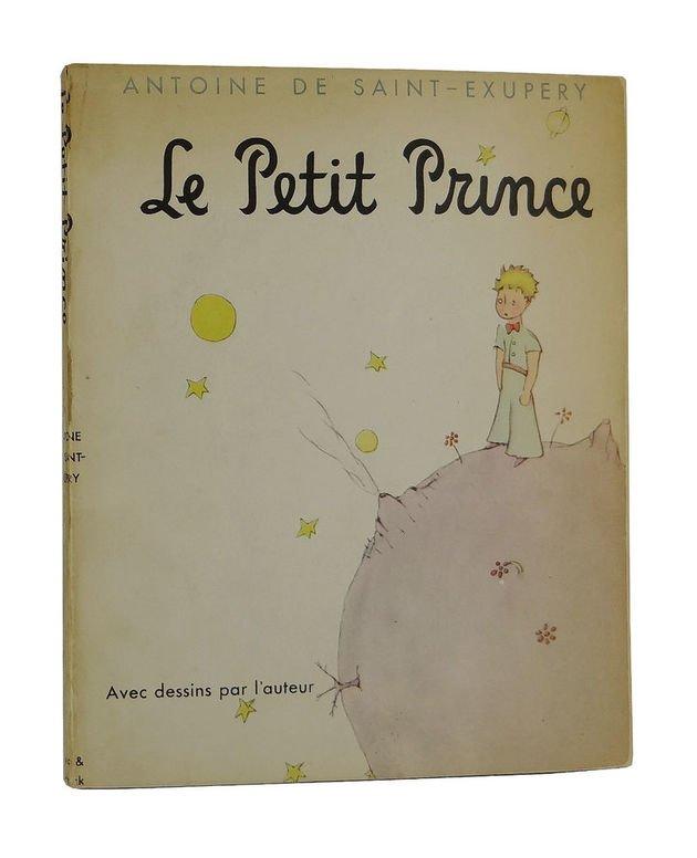 Primeira edição de O pequeno príncipe publicada nos Estados Unidos em 1943.