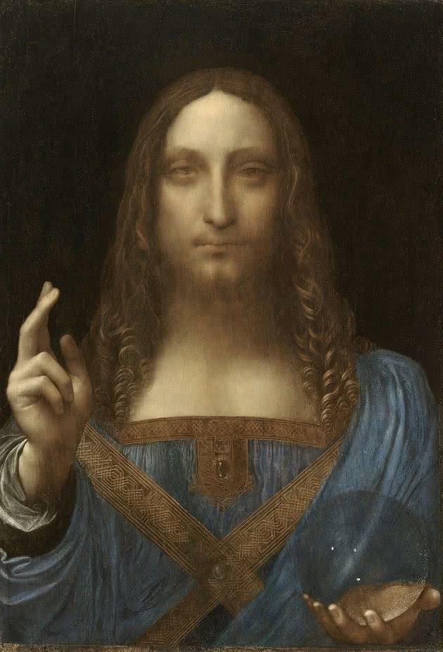 Salvator Mundi - 45.4 cm × 65.6 cm