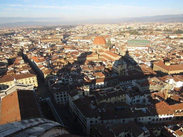 Vista da Catedral de Florença.