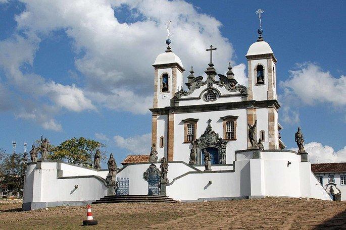 Santuário do Bom Jesus de Matosinhos (em Congonhas)