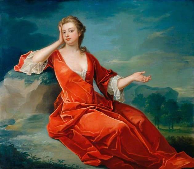 Representação de Sarah Churchill, a verdadeira Duquesa de Marlborough.