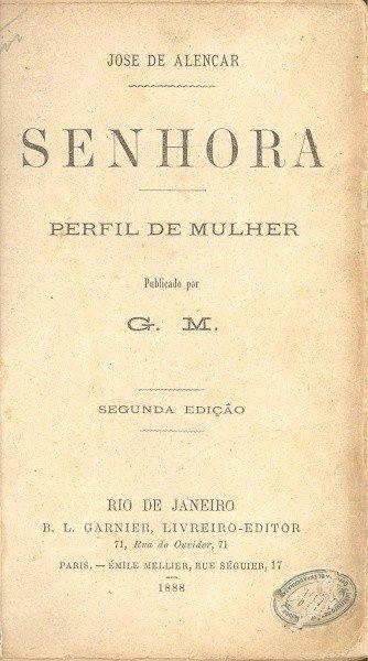 Segunda edição de Senhora.