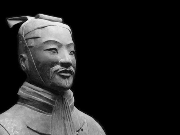 Estátua de Sun Tzu.