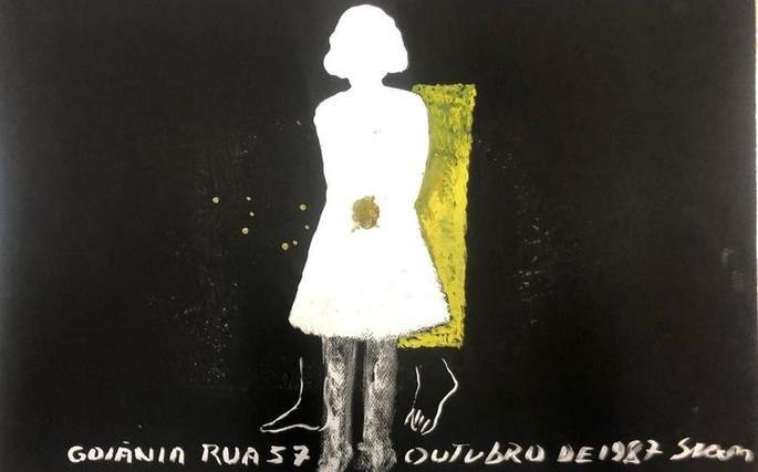 Obra que integra a série de trabalhos Césio, de Siron Franco
