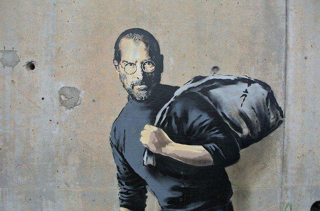 Steve Jobs at Sangatte