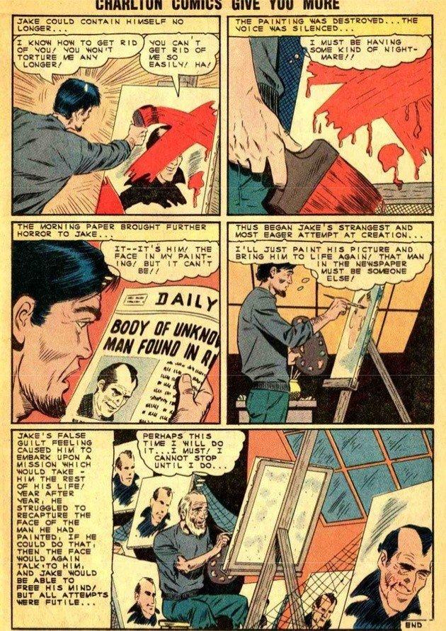 História em quadrinhos que serviu de inspiração para a série Brushstrokes.