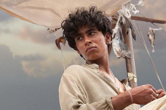 Suraj, o protagonista de As aventuras de Pi.