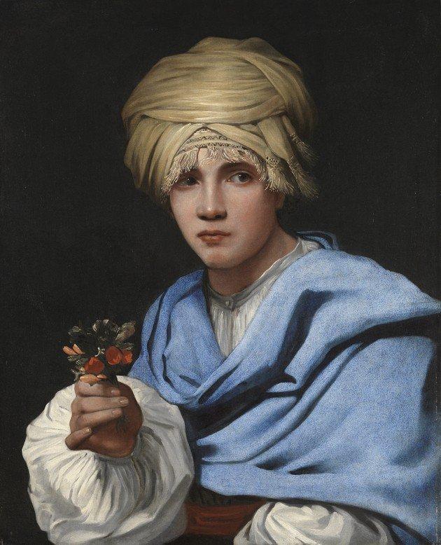 """Tela """"Menino em um Turbante"""", de Michael Sweerts, que teria servido de inspiração para Moça com brinco de pérola, de Vermeer."""