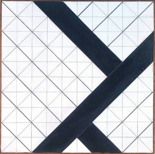 Counter-Composition VI, de Theo van Doesburg