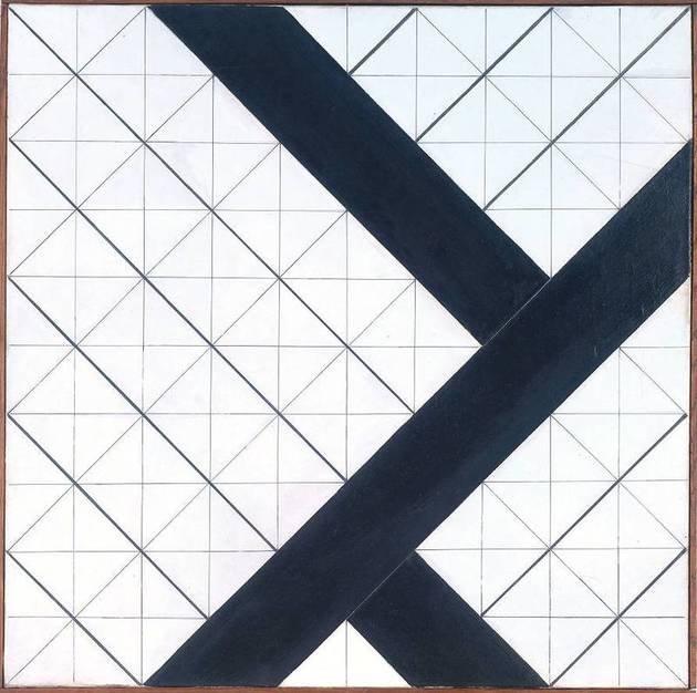 Counter-Composition VI, deTheo van Doesburg