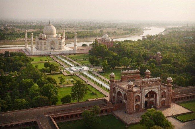 Jardins do Taj Mahal
