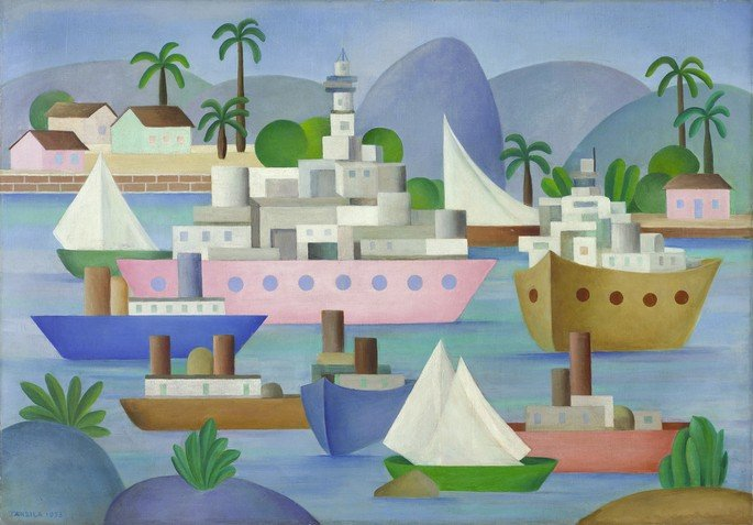 Porto I Tarsila do Amaral