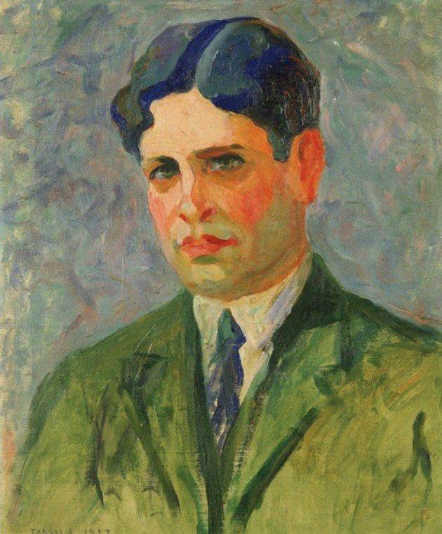 Oswald de Andrade pintado por Tarsila em 1922.