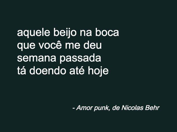 Amor punk, de Nicolas Behr