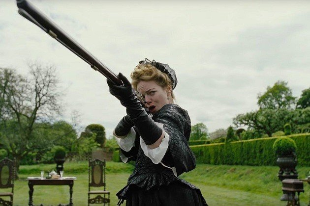 Abigail, ao longo do filme, vai ganhando contornos de crueldade.