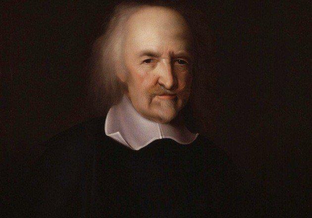 Imagem de Thomas Hobbes.