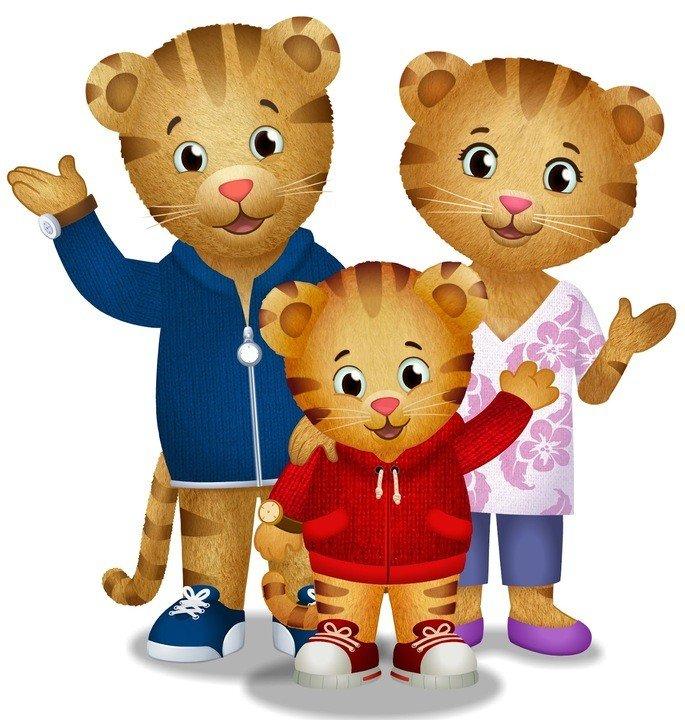 família de Daniel Tigre