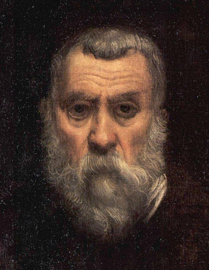 Autorretrato de Tintoretto