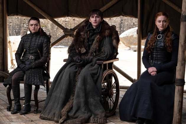 Bran é escolhido para ser o próximo rei.