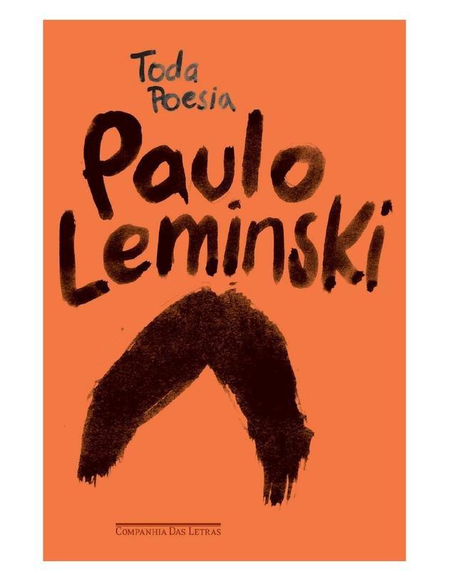 Capa da publicação Toda poesia, de Paulo Leminski.