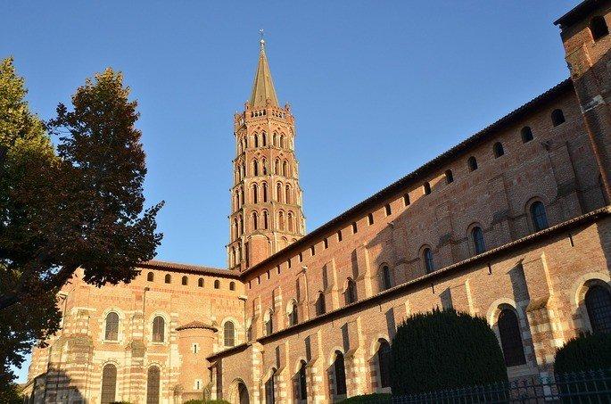 Basílica de Saint-Sernin em Toulouse (França)