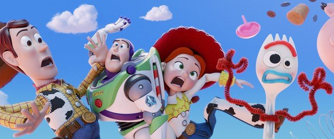 Frame do filme Toy Story 4