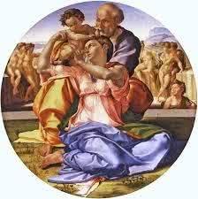 Tondo Doni - 120 cm - Galleria degli Uffizi, Florença
