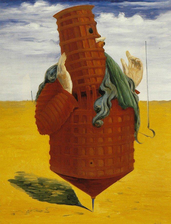 Ubu Imperator (1923), de Max Ernst