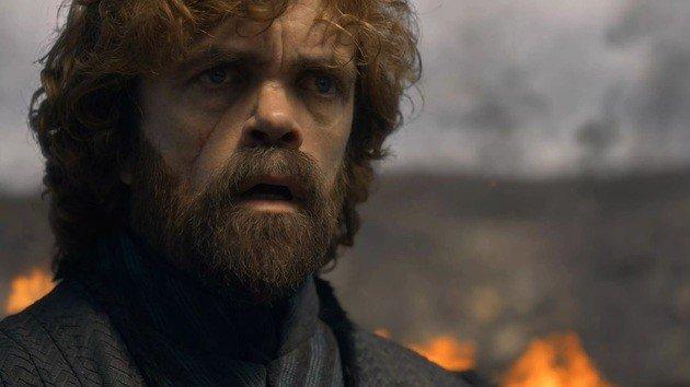 Tyrion vendo a destruição