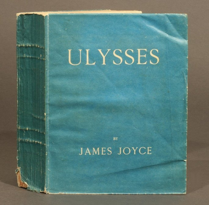 Capa do livro Ulisses, de James Joyce.