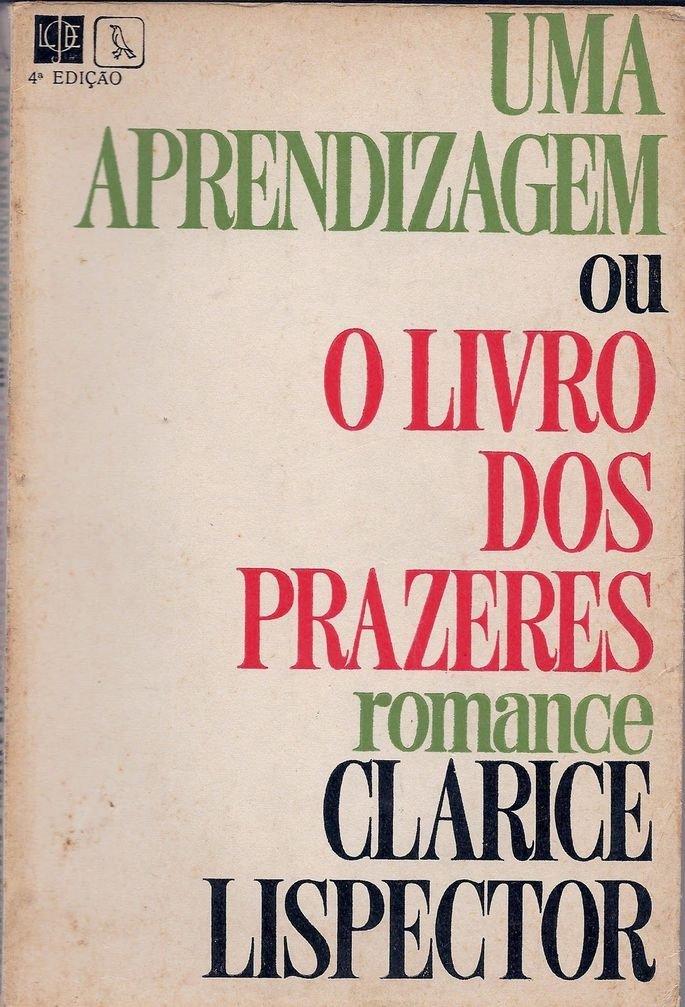 Capa da primeira edição de Uma aprendizagem ou o Livro dos Prazeres