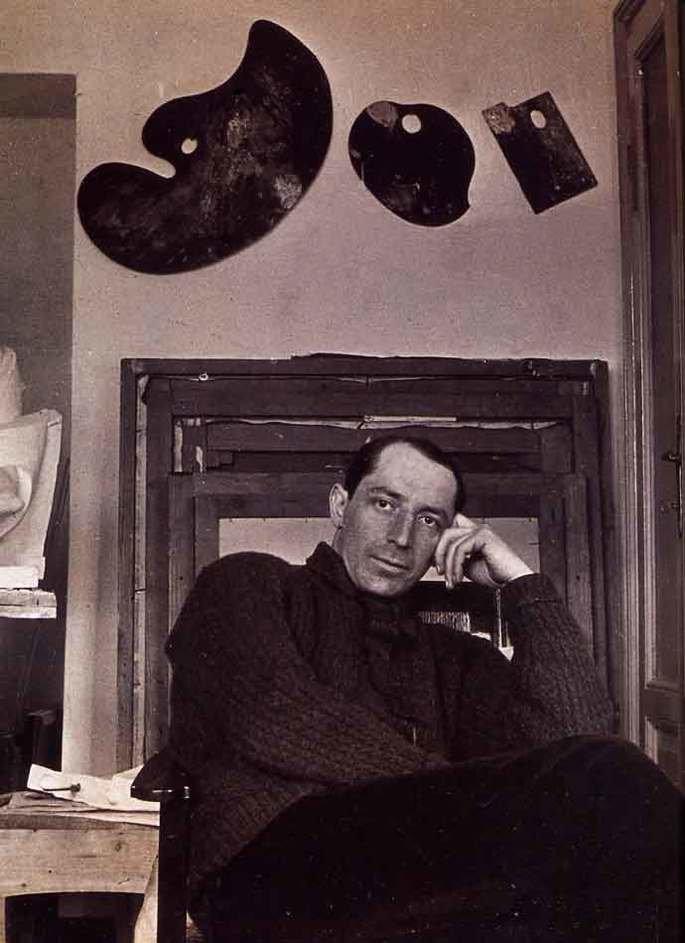 Retrato de Umberto Boccioni em 1914.
