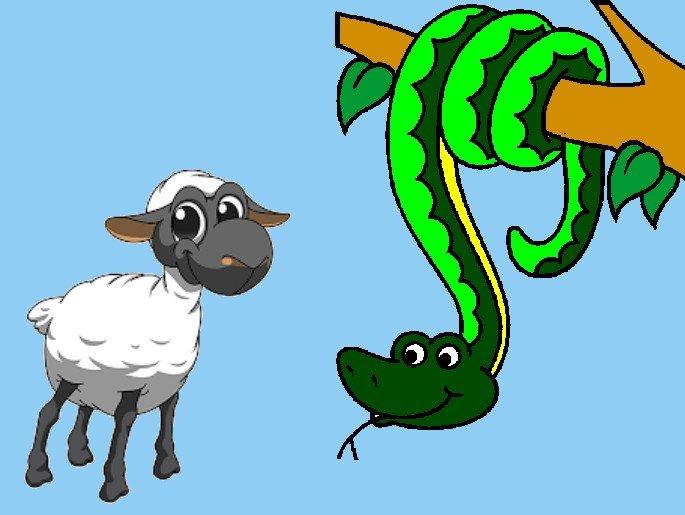serpente e cabrito
