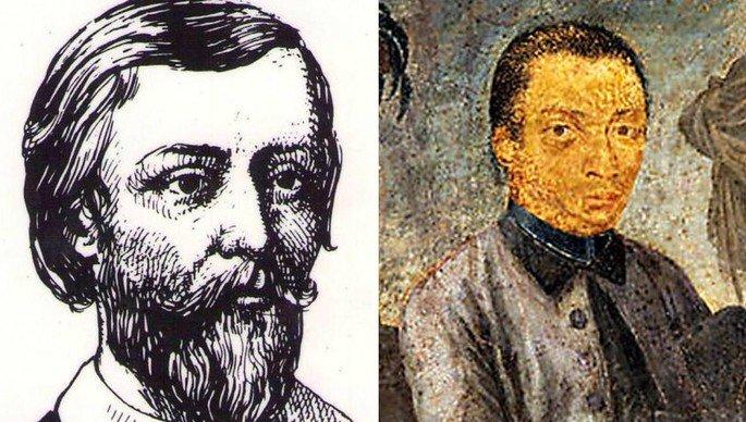 Gregório de Matos (na literatura) e Aleijadinho (nas artes plásticas) foram os grandes nomes do Barroco brasileiro.