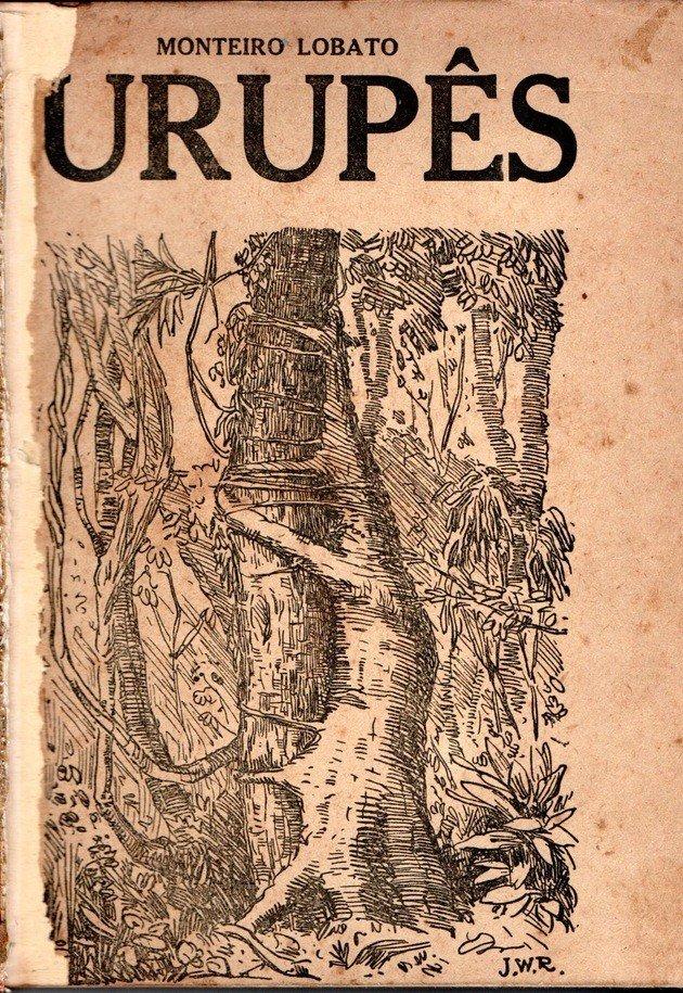 Primeira edição de Urupês, lançada em 1919.