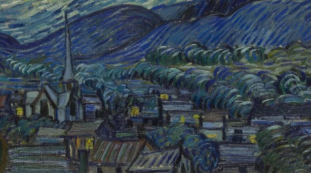 A Noite Estrelada Analise E Significado Do Quadro De Van Gogh
