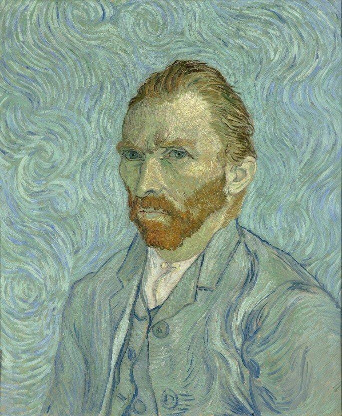 Autorretrato Van Gogh