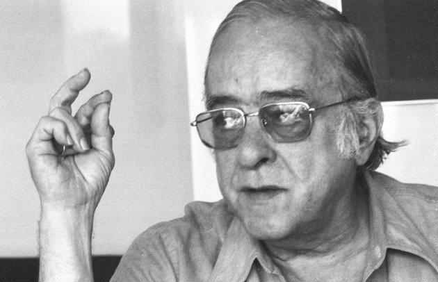 Retrato de Vinícius de Moraes.