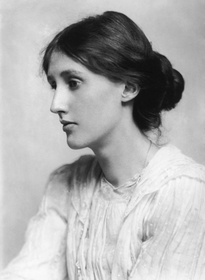 Retrato de Virginia Woolf-