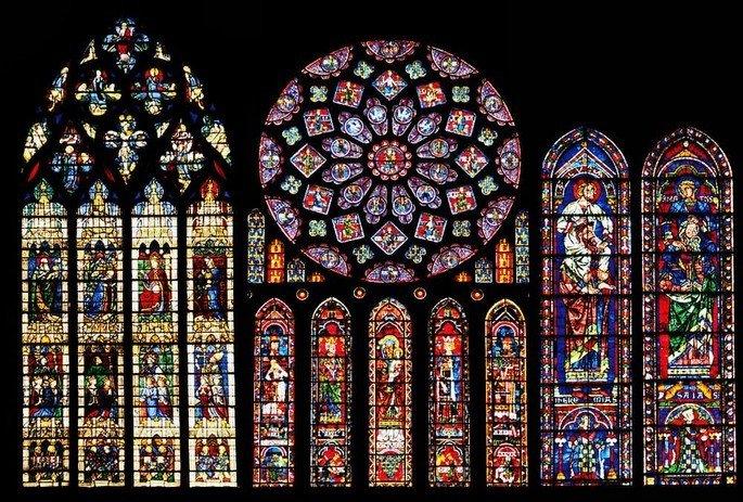 Vitrais da Catedral de Chartres (França)