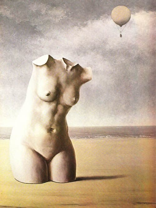 Rene Magritte. When the hours strikes (1964 - 65)